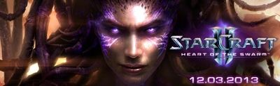 Fantástica introducción cinemática de 'Starcraft II: Heart of the Swarm'