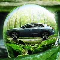 El Subaru Solterra, primer coche eléctrico de Subaru, se insinúa en estas imágenes antes de su debut previsto para 2022