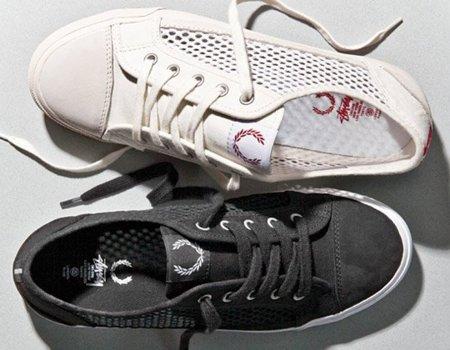 Fred Perry y Stüssy vuelven a colaborar en el calzado con nuevas zapatillas