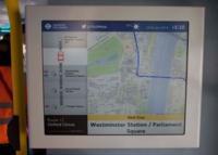 En este autobús de Londres sabrás por dónde vas y si tienes asientos libres en el piso de arriba