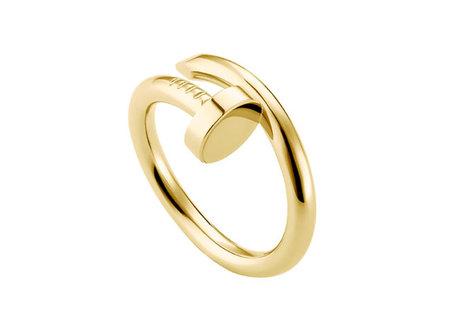 Sortija oro amarillo Cartier