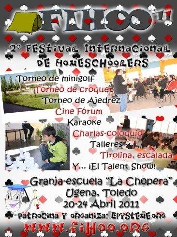 Fihoo 2011, Segundo Festival Internacional de Homeschoolers