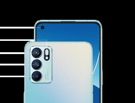 Así es como el OPPO Reno6 5G usa el poder de la inteligencia artificial para capturar tus recuerdos con toque profesional