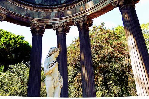 Citas para fotografiar el otoño: Parque El Capricho en Madrid
