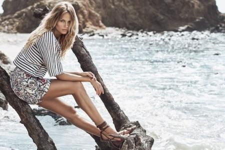 El verano llega con H&M y Natasha Poly