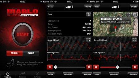 Diablo Super Biker, la aplicación de Pirelli para iOS