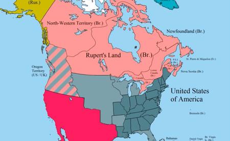 Toda la historia de América del Norte y del Sur, resumida en dos fantásticos vídeo-mapas