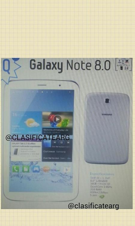 ¿Será este el Note 8.0?