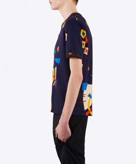 J W Anderson Abstract Print T Shirt