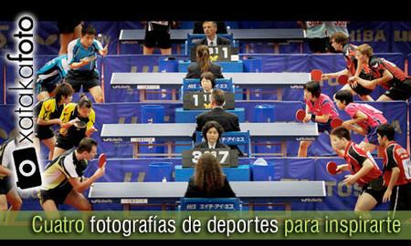Cuatro fotografías de deportes para inspirarte