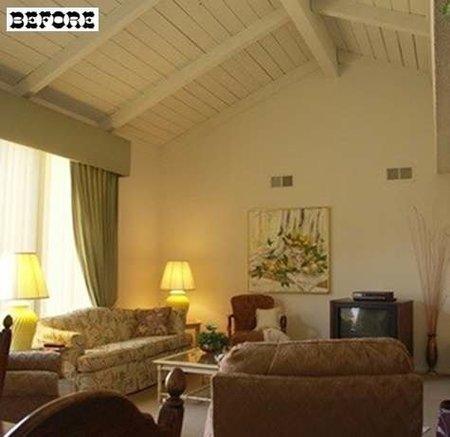 Antes y después: un salón de clásico a moderno