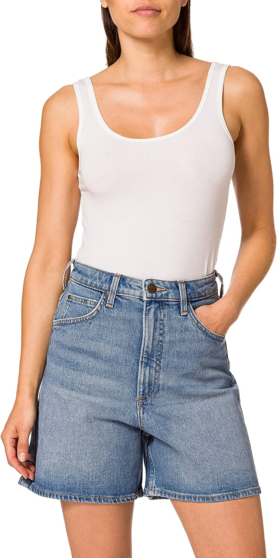 Lee Stella Short Pantalones Cortos para Mujer