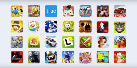 Opera Apps Club, lista de aplicaciones