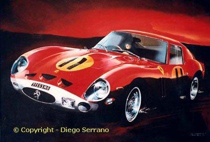 Diego Serrano, pasión por el arte y el motor