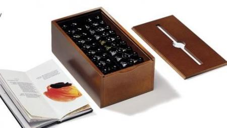 Caja de aromas para la cata de café
