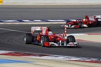 Ferrari tiene problemas de temperatura