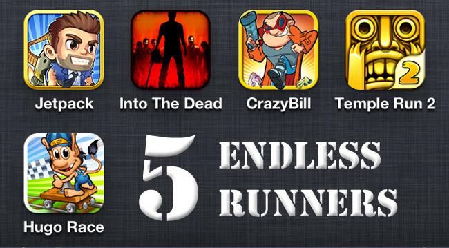 Los mejores juegos gratis para iOS - Endless Runners