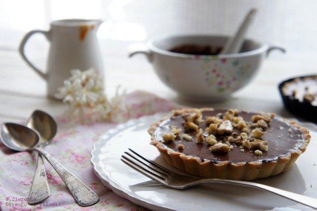 Tartaletas chocolate caramelo