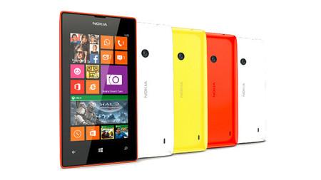 Opciones de colores en el Nokia Lumia 525