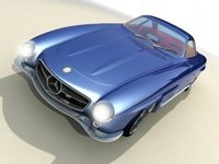 2007 Mercedes-Benz 300SL 1957 by Bo Zolland
