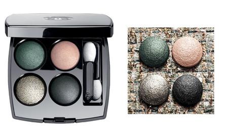 Les 4 ombres Chanel, la reinterpretación del clásico tweed en sombras para los ojos