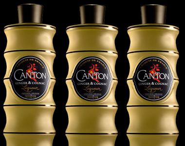 Cantón, un licor de jengibre y coñac