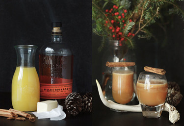 Cócteles de Navidad: Ron caliente con mantequilla