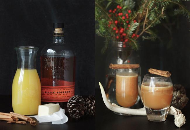 Cóctel de Navidad - Ron caliente