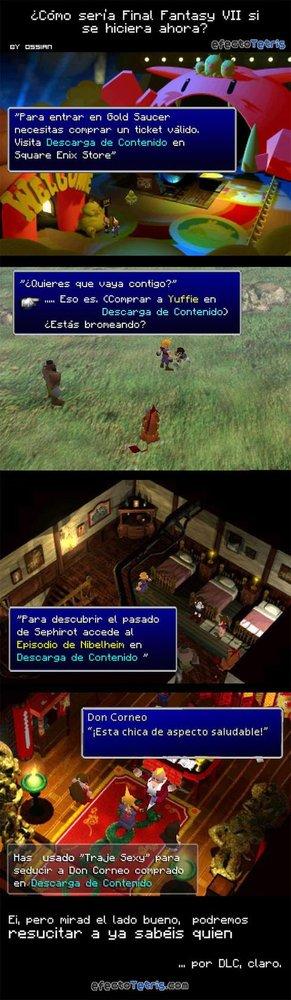 Final Fantasy VII y los DLCs