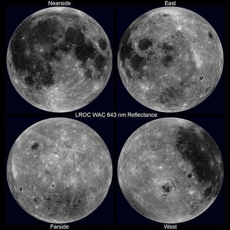 Contemplar por primera vez la Luna rotando de forma completa