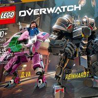 La D.Va de LEGO no te va a salir barata, pero hay que reconocer que las figuras de Overwatch molan bastante