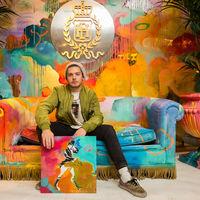 Misterpiro llena de color el Lobby Art Gallery del Hotel Emperador en Madrid