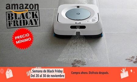 Braava Jet m6134 de iRobot también a precio mínimo histórico por el Black Friday en Amazon: 499 euros