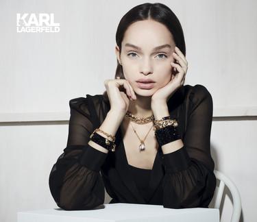 Karl Lagerfeld debuta en joyería con estas 141 joyas en colaboración con Swarovski