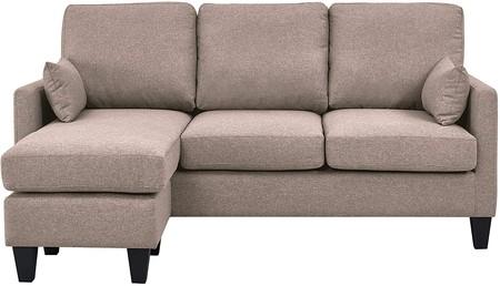 Sofá cama con chaise longe