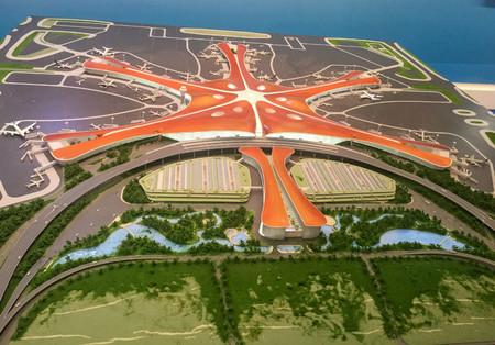 Model Of Beijing New Airpor