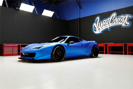 ¿Quieres ser como Justin Bieber? Al menos ahora podrás comprar su Ferrari 458 Italia preparado por Liberty Walk