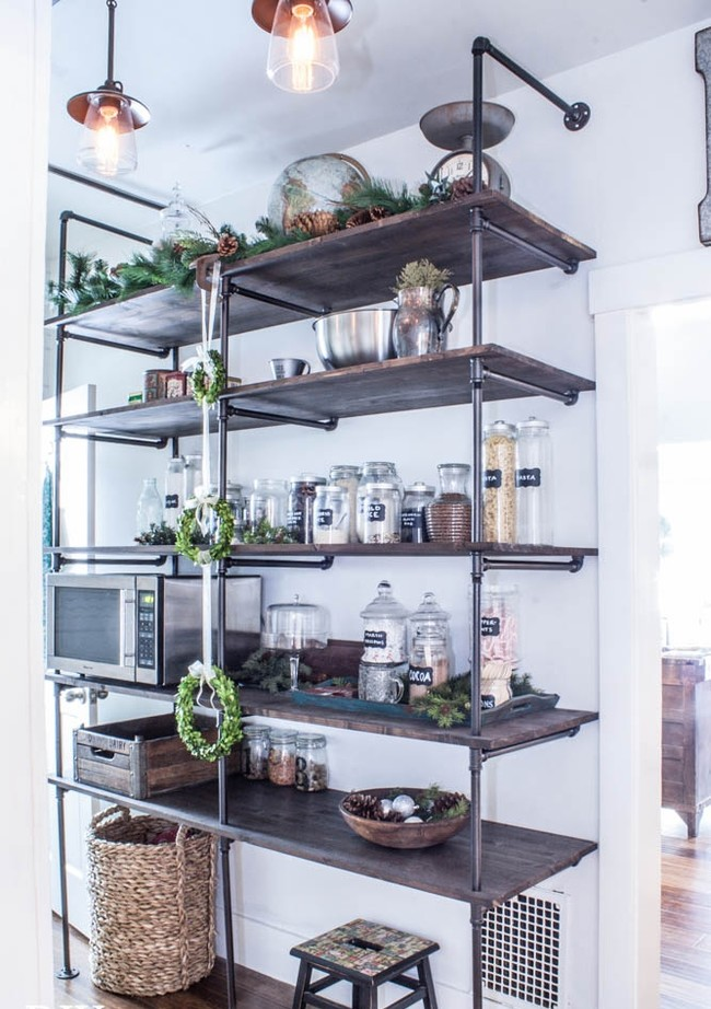 Outstanding Industrial Pipe Shelves Imposing Design Tips For Making A Diy Shelving Unit Show Off
