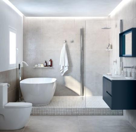 Plan modernizar el ba o 7 propuestas con estilo para - Cuartos de bano con banera y ducha ...