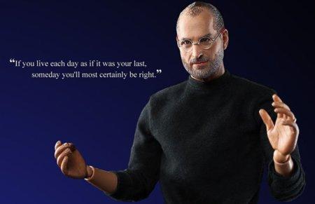 A tiempo para la carta a los Reyes Magos: La figura articulada de Steve Jobs increíblemente realista