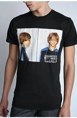 Camiseta Bill Gates Mug Shot