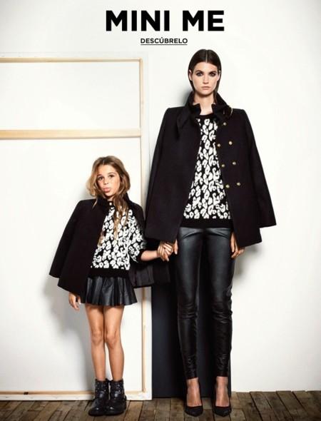 Cuando la hija va más fashion que la madre, por Mango (y Mango Kids)