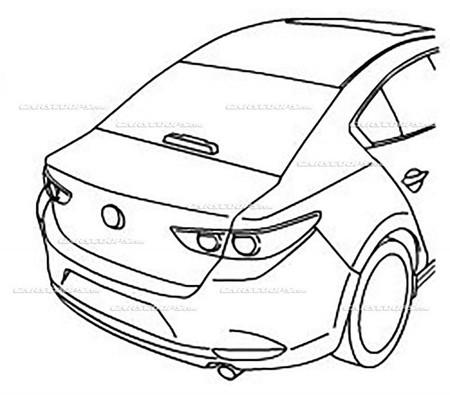 Mazda 3 Sedan Filtrado 2020