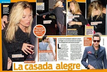 Hay cosas que nunca cambian... Kate Moss es una de ellas