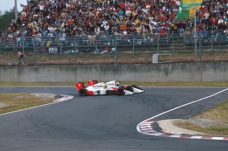 Prost Senna Japon F1 1989