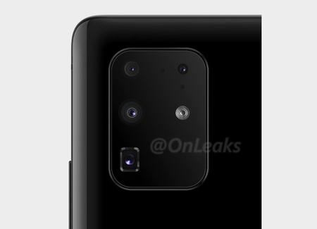 Samsung Galaxy S11 Plus se quedaría con cuatro cámaras en arreglo más tradicional, pero en el enorme módulo rectangular