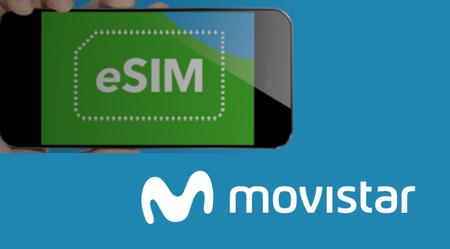 eSIM también disponible ya con Movistar, pero sólo para iPhone de momento