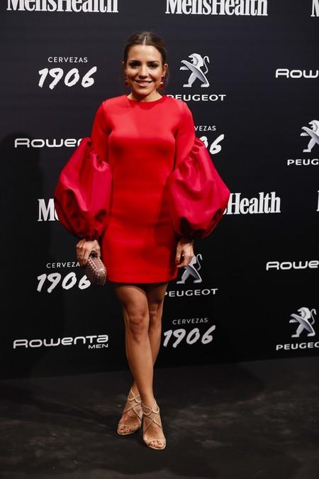 El perfecto peinado de Paula Ordovás  en los Men's Health Awards que querrás copiar esta Navidad