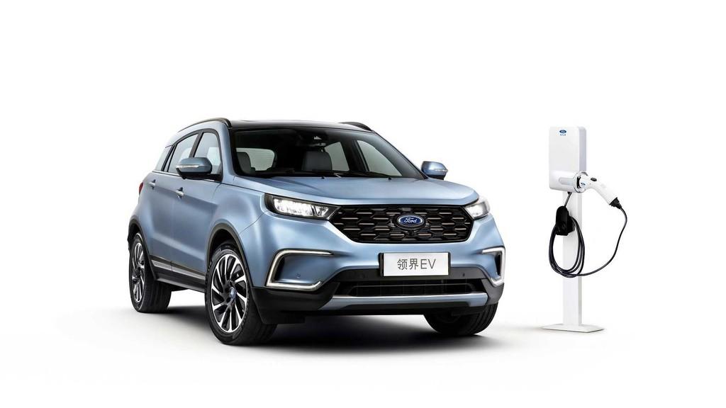 El primer coche eléctrico de Ford para China es un SUV mediano que ni siquiera es un modelo Ford