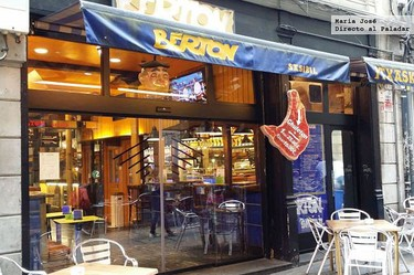 Restaurante Berton Sasibil, en pleno casco antiguo de Bilbao